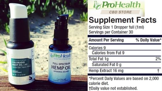 hemp oil supplements