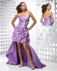 High-Low Alyce Paris Gown